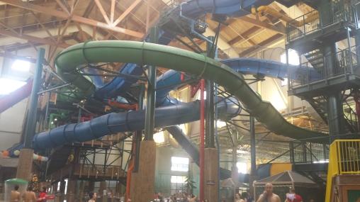 The maze of slides