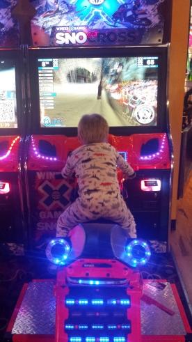 The arcade!
