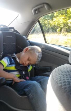 See? Kids sleep weird