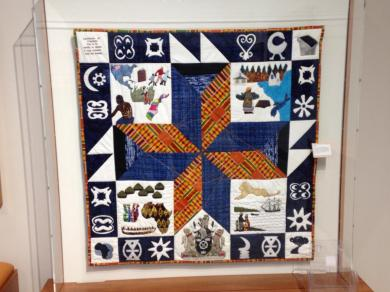 Quilt. There is a media activity to create your own quilt block an you can then mail it to yourself