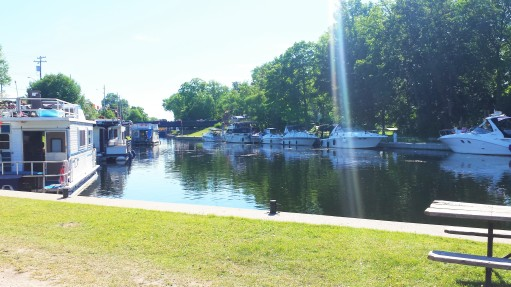 The locks in Bobcaygeon