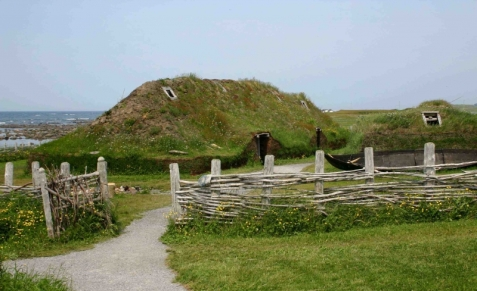 Viking Long Houses in Newfoundland