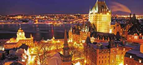 Old Quebec City. Photo Credit: http://www.quebecregion.com