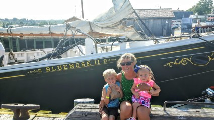 At the Bluenose II in Lunenburg