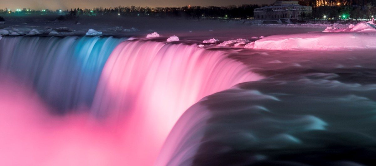 Niagara Falls: Just How Do They Light Up The Falls?
