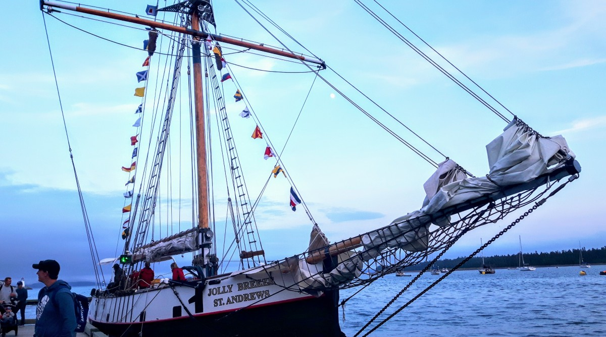 St. Andrews, NB: Tall Ships, Taller Tales